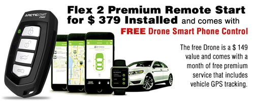 Free Drone Mobile Promo Banner