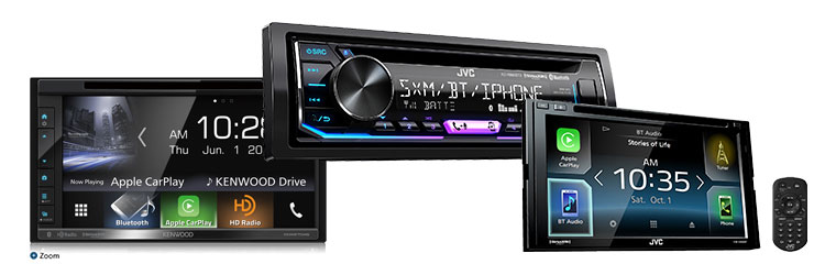 new touch screens radios